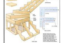 scară lemn