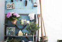 My little garden / rustic charm