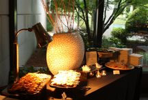 Buffet Décor / The Carter Center, Events - Buffet Decor For more information about hosting an event at The Carter Center, please visit: http://www.cartercenter.org/about/facilities/venues-and-fees.html