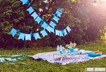 Солнечная пикник-вечеринка в парке