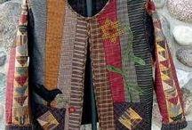 patchwork ceket