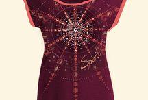 Kristall Design für Shirts / Ausdrucksstarkes Kristall Design für Shirts