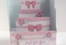 Petite Cake Cards / Samples of the Petite Cake Cards by Craftwork Cards