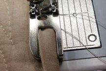 Makinada farklı ayak dikişi