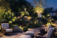 Maciek / Podświetlenie ogrodu