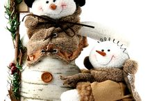 Snowmen / love snowmen.. they look so jolly