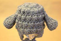 Bebé- Gorros- Escarpines-Crochet