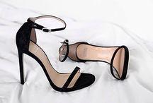 Ankle Strap / Stilettos / Platform Heels