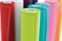 MYdrap  / MYdrap son las únicas servilletas de tela en rollo que visten tú mesa. / MYdrap makes the only serviettes on rolls to decorate your table.