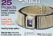 Beadwork related magazines 3