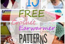 Crochet headbands/earwarmers