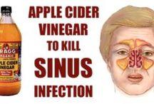 Apple cider for sinus