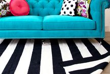 Joanie Design Rugs / Fun & fresh area rugs available at www.joaniedesign.com