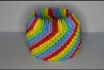 3D oregami