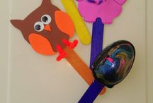 my crafts / My #crafts for toddlers and young kids. easy to make #diy