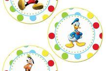 cumple Mickey y Minnie