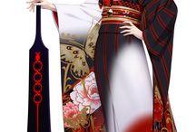 some kimono or hanbok