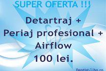 Oferte Stomatologice / Ofertele stomatologice ale cabinetului Dentist-who