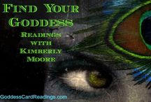 Goddess Card Readings / Free Goddess Card Readings weekly with Kimberly on MotherHouseoftheGoddess.com or go to GoddessCardReadings.com for a personal Goddess connection!