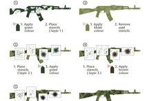 Rifle camouflage