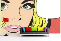comic pop art theme