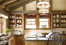 Barn kitchens