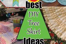 Xmas tree mats to make