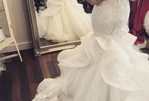 Havfrue-bryllupskjoler
