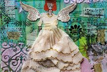 My Stuff / Gallery with my work in scrapbookin, art journal and mixed media