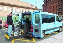 Taxi Adaptado / Wheelchair Taxi Cab / Fotos de vehículos adaptados destinados al transporte en taxi de personas con movilidad reducida