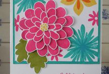 flower patch/stamping up
