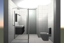 Sanidrome Wemmers Papendrecht: voorbeeld 3 gerealiseerde badkamer / Sanidrome Wemmers uit Papendrecht toont graag de door hen gerealiseerde badkamers.