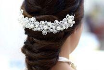 enfeites para cabelo de noivas