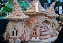 Maison féerique miniature