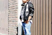 Rock kids fashion