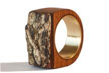 wood turned rings