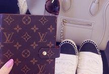 Louis Vuitton pieces that I have/want <3