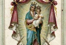 † Religieux / Des représentations de la vierge Marie de Saint joseph, des ex voto. Plein de statues du Christ et du coeur ardent, de la macarena, de la guadalupe de rocio
