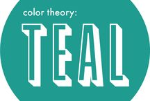 Teal / Teal is a low-saturated color, a bluish-green to dark medium, similar to medium blue-green and dark cyan. It can be created by mixing green with blue into a white base, or deepened as needed with a little bit of black or gray color. The complementary color of teal is coral. The first recorded use of Teal as a color name in English was in 1917.