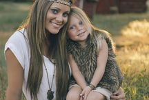 Mother daughter photo's
