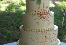 Wedding Fireworks Cakes / Some inspirational ideas for amazing wedding fireworks cakes. Having a firework themed wedding then you gotta check these out