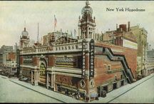 New York - Theaters and Movie Houses / Past and present buildings with style and charm!