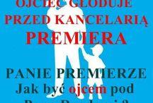 ZDESPEROWANY OJCIEC GŁODUJE PRZED KANCELARIĄ PREMIERA / http://cpoid.pl/index.php/pl/aktualnosci/140-zdesperowany-ojciec-gloduje-przed-kancelaria-premiera