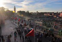 Marrocos / Pins de viagem com destino para Marrocos e cidades como Marraquexe | #Marrakech