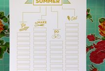 Summer bucket list / by Kristen Randall