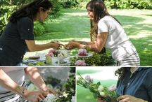 Scenes from an elegant pic-nic idea for wedding