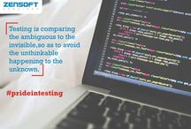 Pride In Testing / We bring to you software testing quotes from across the world that give you insight into the world of software testers. Whether you are a manual tester or an automation tester (or both), these quotes are sure to resonate with you.