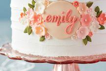 Cake decoratie