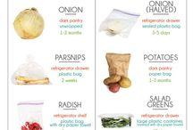 Oppbevaring av matvarer
