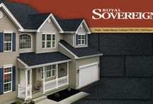 GAF Royal Sovereign Shingles / A classic 3 tab shingle found throughout the United States